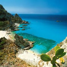 Calabria - Capo Vaticano beach one of the 100 most beautiful beaches in the world!