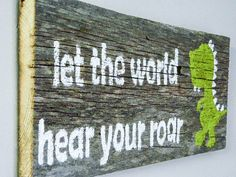 Reclaimed Barnwood Wall Art HandPainted Wood Sign by TheDoubleDubs, $30.00