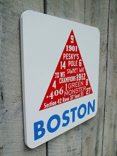Painted+Wooden+Boston+Sign+Red+Sox+Fenway+by+406Concepts+on+Etsy,+$50.00