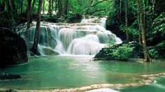 Erawan Waterfall Thailand