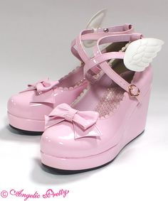 Angel Shoes (L) - Pink the cutest shoes ever