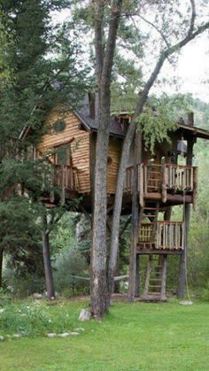 Tree house that my kids will have(: well it might look different but tree house will be there haha