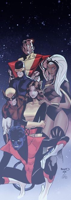 The X-Men by Paul Renaud.