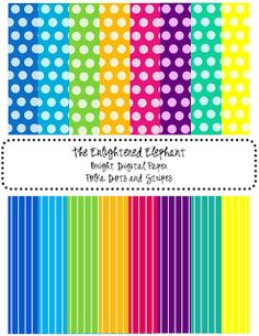 Polka Dots Galore and free printable paper