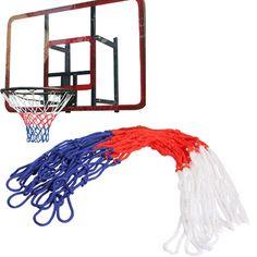 Durable Standard Nylon Thread Sports Basketball Hoop Mesh Net Backboard Rim Ball Pum 12 Loops ARE4