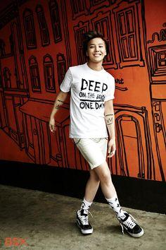 #BigBang #G-Dragon for BSX #CuteSmile