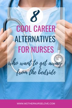 There are so many career opportunities for nurses that don't involve working at the bedside in a hospital. Read this list to learn more about alternative nursing careers for nurses who don't want to be nurses anymore. Nursing Resume, Nursing Career, Travel Nursing, Ob Nursing, Funny Nursing, New Nurse, Nurse Love, Nursing Blogs, Legal Nurse Consultant