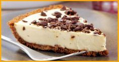weight watchers best recipes | Chocolate Chip Peanut Butter Pie - weight watchers recipes