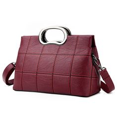 Luxury Brand PU Leather Messenger Bags //Price: $20.99 & FREE Shipping //     #shoulderbags