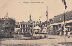 Intérieur du Palais Royal par Brignon, Cambodge; #Cambodia | © unknown