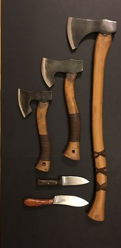 Ax, hatchets, & knife