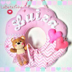 Porta Maternidade ursa feltro