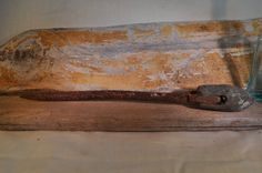 Primitive Antique Soldering Iron by RustedPulchritude on Etsy