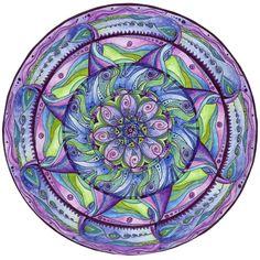 Mandalas by Zarja Menart, via Behance
