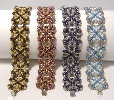 NEW Kaleidoscope Band Pattern by Deborah Roberti at Bead-Patterns.com