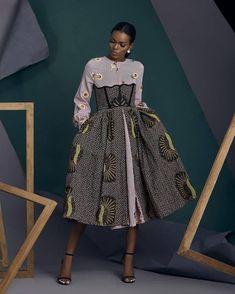 African Fashion Ankara, Latest African Fashion Dresses, African Dresses For Women, African Print Fashion, Africa Fashion, African Attire, African Women, Tribal Fashion, African Prints