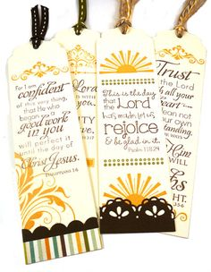 Stamp it. Love the verses - Taylored Expressions #Bookmarks #Scripture #RubberStamps