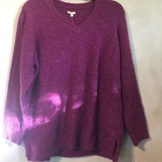 Gorgeous sweater Brand new soft and cozy sweater. Gorgeous purple color. Sonoma Tops