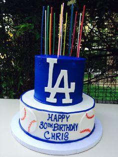 Dodger Stadium birthday cake Dodgers Pinterest Dodger