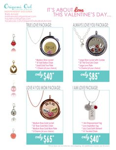 The perfect Valentine's Day gift.  www.bcarmichael.origamiowl.com