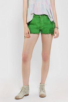 Urban Renewal Dyed Denim Short #EmeraldCity #CorriMustHaves