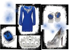 """Midnight Blue"" by lily-simle on Polyvore"