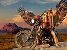67 Super Ideas For Bobber Motorcycle Girl Harley Davidson Harley Davidson Kunst, Harley Davidson Motorcycles, Biker Chick, Biker Girl, David Mann Art, Baggers, Choppers, Bobber Motorcycle, Motorcycle Posters