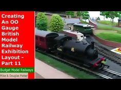 Creating An OO Gauge British Model Railway Exhibition Layout - Part 11 - Running Steam Locomotives. For More Photos and information visit our website: http:/. Steam Locomotive, Model Trains, More Photos, Gauges, British, Layout, Running, Youtube, Page Layout