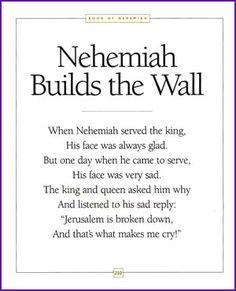 Nehemiah Builds the Wall (Rhyming Story) - Bible Story - Kids Korner - BibleWise