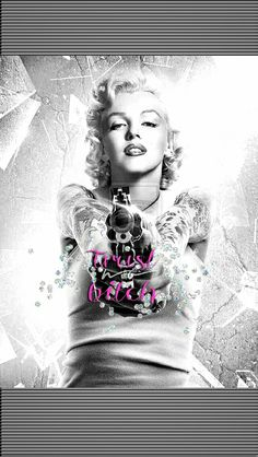You can set marilyn monroe topless images wallpaper in windows 10 pc android or. Marilyn Monroe Tattoo, Marylin Monroe, Marilyn Monroe Kunst, Marilyn Monroe Wallpaper, Marilyn Monroe Quotes, Fille Gangsta, Rocknroll, Gangster Girl, Marquesan Tattoos