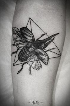beetle tattoo | Tumblr