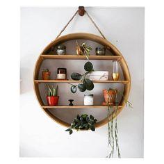 📣 89 Models Beautiful Circular Bookshelf Design For Complement Of Your Home Decoration 60 - Shelf Design Ideas - Plant Shelves, Wood Shelves, Shelving, Wood Home Decor, Diy Home Decor, Bookshelf Design, Home Accents, Room Inspiration, Bedroom Decor