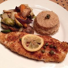 #dinner tonight was @skinnytaste Flounder Piccata (7pp) made using flounder caught and filleted by my fiancé. Had it with 1/2c quinoa (3pp) and roasted veggies #ww #weightwatchers #wwpointsplus #pointsplus #wwmeals #wwfooddiary #weightwatchersworks #wwsisterhood #wwinspiration #weightwatchersinspiration #weightwatchersfamily #weightwatcherssisterhood #wwfoodjournal #wwbride #simplyfilling #weightlossinspiration #healthylifestyle #food
