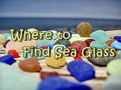 Where to find sea glass - here are a list of sea glass beaches all over the world where people like you have reported finding sea glass!  Collecting sea glass has never been more fun...