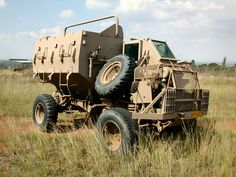 The Primary fighting vehicle of 52 Bn. Bobby installed the first command Buffel with radios to operate as a Bn Tactical HQ vehicle. Military Weapons, Military Art, Military History, Mercedes Benz Forum, Mercedes Benz Unimog, Army Vehicles, Armored Vehicles, Safari, Bug Out Vehicle