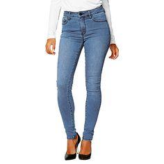 Dannii Minogue Petites High Waisted Skinny Jeans - Blue