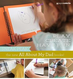 All About My DAD Books - 60% off HERE! Limited time offer!