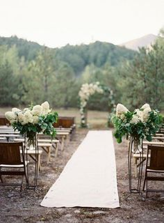 White Hydrangeas / Wedding Style Inspiration / LANE