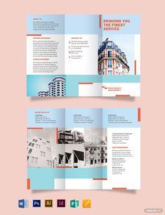 Graphic Design Brochure, Brochure Layout, Brochure Template, Brochure Ideas, Broucher Design, Layout Design, Dm Poster, Brochure Inspiration, Leaflet Design