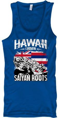 Super Saiyan Tank Top Shirt - FOR HAWAII FANS - TS00165TT