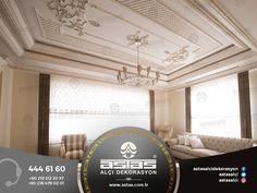 Dinlenme odanıza, ruhunuzu dinlendirecek motifler... #astas #alcidekorasyon #astasalci #kartonpiyer #plaster #plasterwork #peace #design #luxury #interior #decorationideas