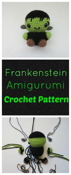 Frankenstein Amigurumi Pattern (scheduled via http://www.tailwindapp.com?utm_source=pinterest&utm_medium=twpin)