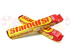 Starbursts - IMPORTANT: Please read ingredient labels. Manufacturers continually change packaging and processing.