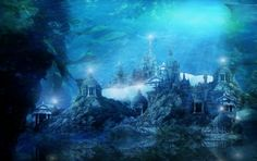 The Mythical City of Atlantis - another artists rendition of the lost city (azavea, 2013)