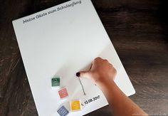 gäste schulanfang leinwand erinnerung gästebuch mal anders einschulung (1)