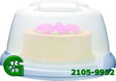 Wilton item number 2105-9952. Visit www.GalesWholesale.com for more information. PortableCake Caddy - Holds up to 10in cake. Carry decorated desserts with ease! The 6 in. high clear plastic dome has 3 locking latches that hold the base securely in place wherever you go. Convenient handle gives you a firm grip for a safe trip from your car to the party. The elegant base is approximately 13 in. diameter and holds and stores up to 10 in. round cake or pie, cupcakes, cookies and more. Wilton Cake Decorating, Wilton Cakes, Round Cakes, Kitchen Gadgets, Item Number, Hold On, Pie, Cupcakes, Handle