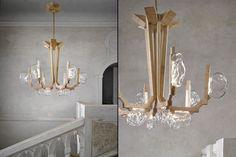 Fungo chandelier by Campana for Lasvit » Retail Design Blog
