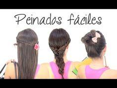 """Peinados fáciles """"paso a paso""""  www.secretosdechicas.es"""