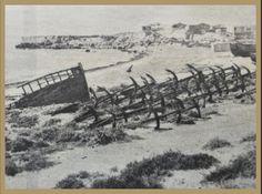 Fotos antiguas playa isla de Tabarca  