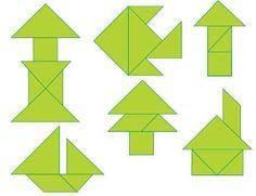 Cuerpos Geometricos - Cuerpos geometricos con tangram